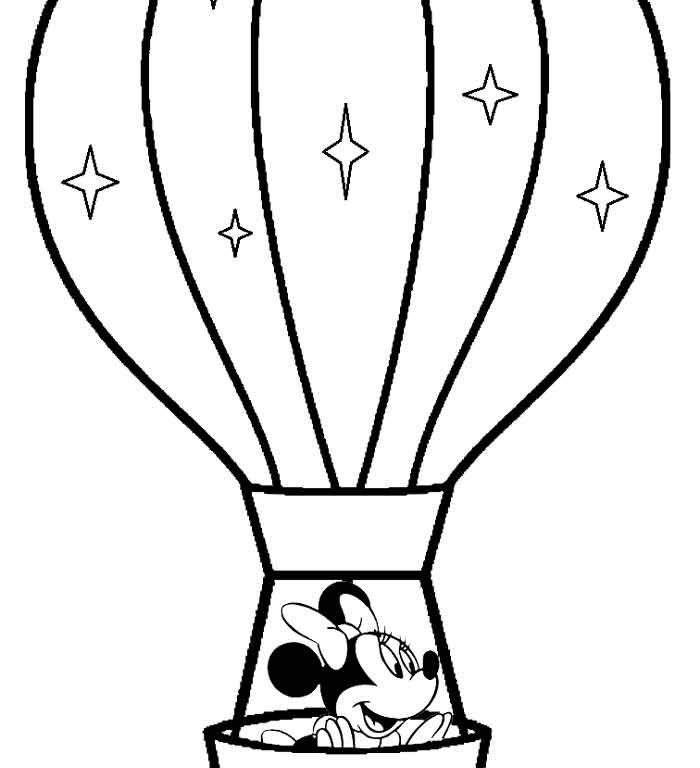 700x768 Hot Air Balloon Coloring Page For Preschoolers Pages Of Balloons