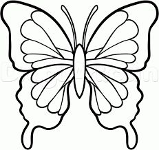 231x218 How To Draw A Butterfly In Easy Way Art Designs Grandchildren