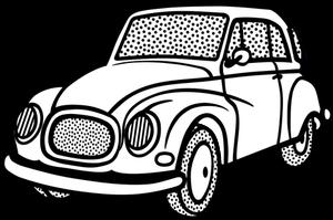 300x199 5127 Free Car Line Drawing Vector Public Domain Vectors