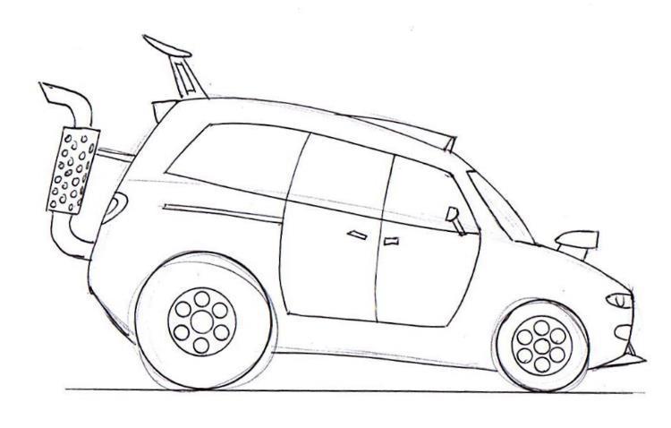 750x478 Learn To Draw The Best Cartoon Cars Junior Car Designer
