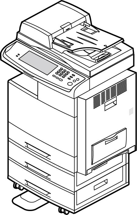 450x705 Variety Of Computer Products Line Drawing Vector Free Vector 4vector