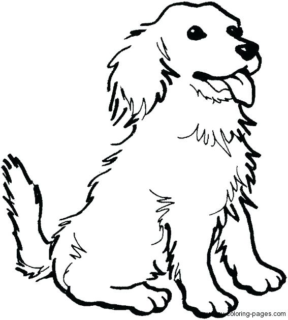 567x629 coloring page of dog pages cartoon dogs colori on holiday dog