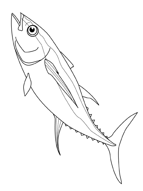 600x800 Kids N 41 Coloring Pages Of Fish