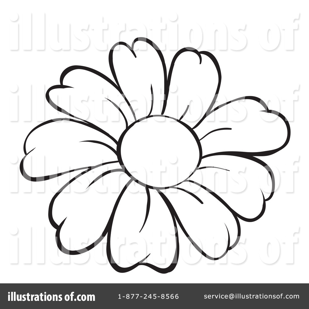 Line Drawing Flowers Blossom : Line drawing of flowers at getdrawings free for