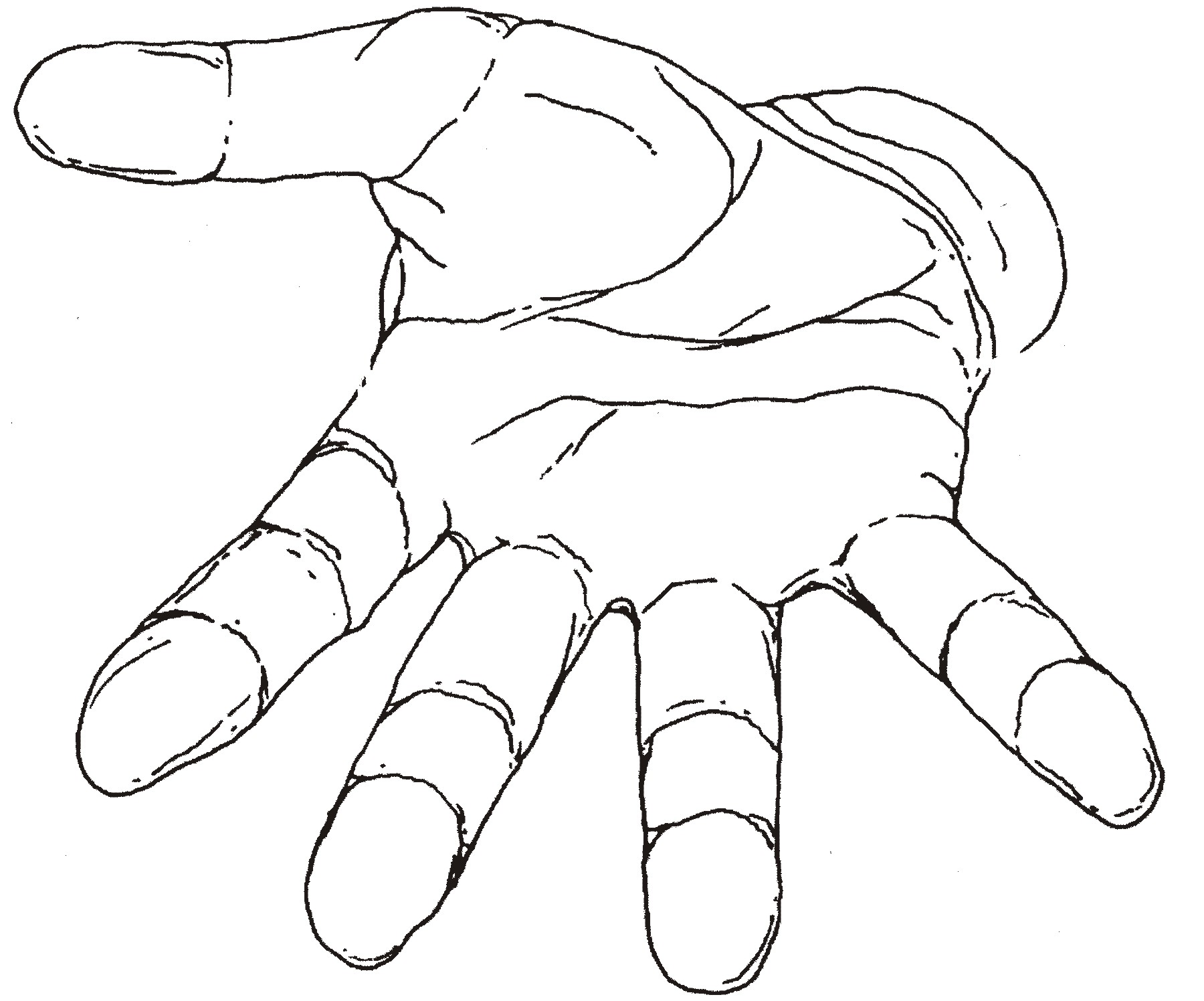 line drawing of hands at getdrawings com free for personal use