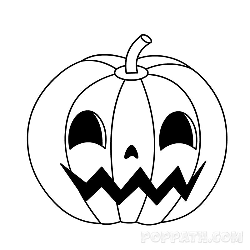800x800 How To Draw A Pumpkin Pop Path