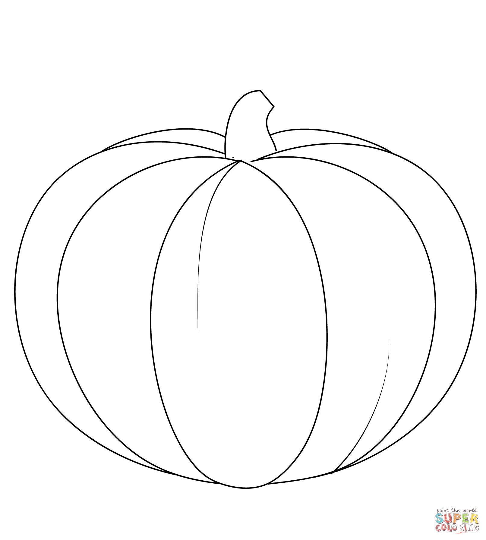 1612x1792 Pumpkin Super Coloring Jesen Craft
