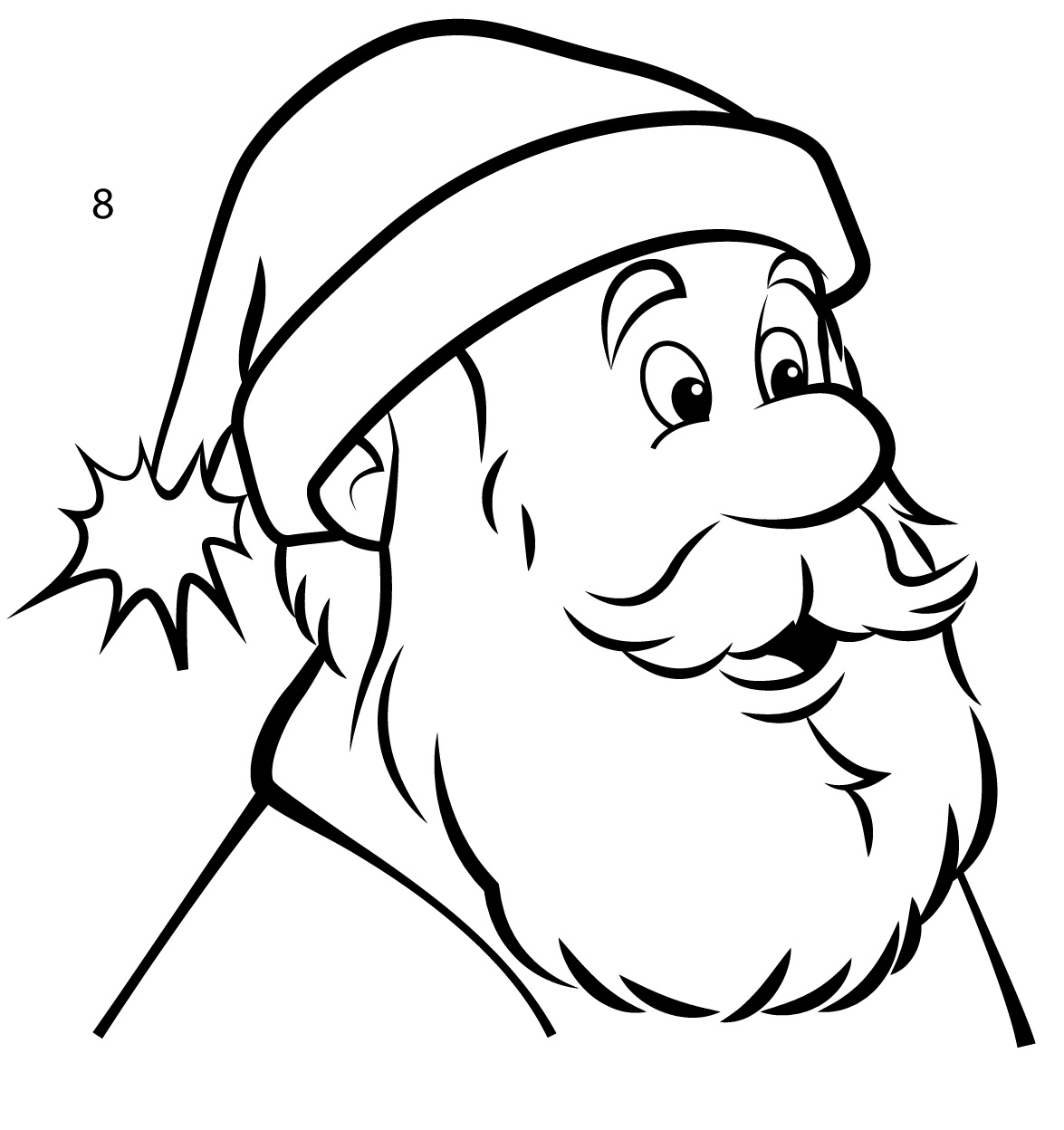 1175x1248 How To Draw Santa Claus In 8 Easy Steps