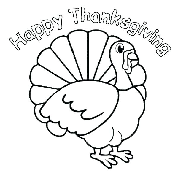 600x583 Coloring Pages Thanksgiving Free Marvellous Happy Thanksgiving