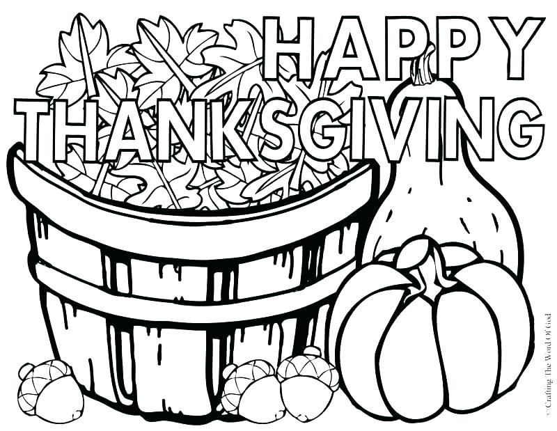 800x619 Printable Thanksgiving Day Coloring Pages Free Sheets Celebration