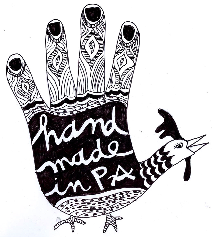 1039x1163 Artist Victoria O'Neill Hand Turkey