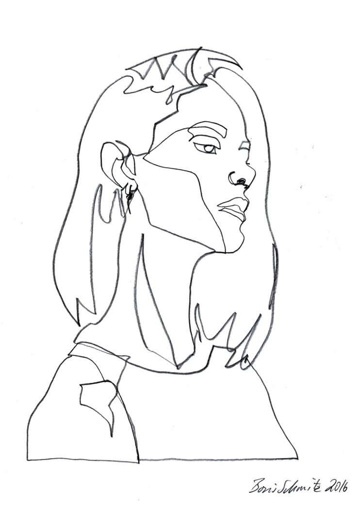 736x1041 Line Drawing Group