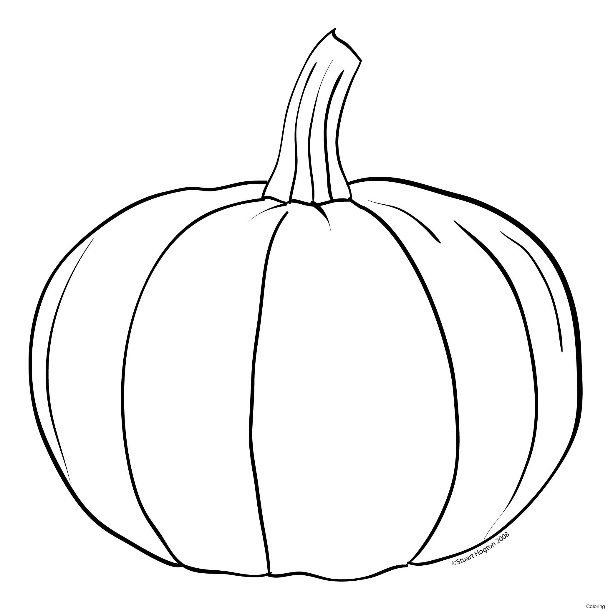 2065x2075 6iropkkat free pumpkin templates printable coloring line drawing - Coloring Pumpkin Templates 2