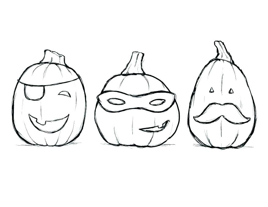 878x678 Pumpkin Coloring Page Cool Pumpkin Coloring Pages For Line