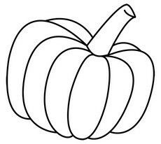 230x206 Pumpkin Drawing Thanksgiving Pumpkin Drawing