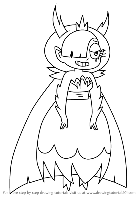 567x800 Learn How To Draw Hekapoo From Star Vs. The Forces Of Evil (Star