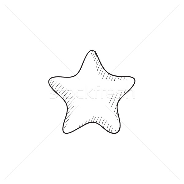 600x600 Rating Star Sketch Icon. Vector Illustration Andrei Krauchuk
