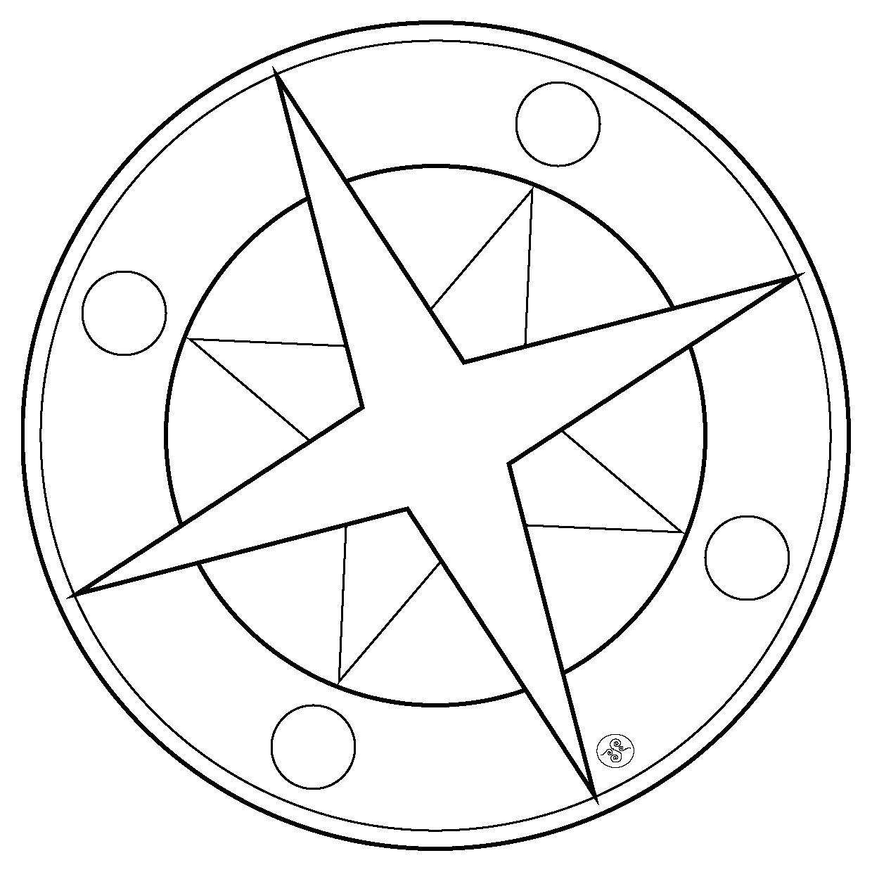 1240x1240 Star Mandalas