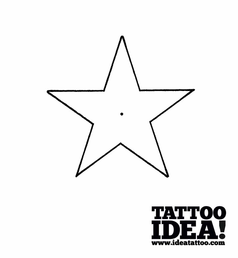 800x867 Tattoo School Draw A Nautical Star With A Ship's Helm Ideatattoo