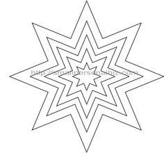 236x220 9 Sided Star Point Star Clipart Etc Nine Pointed Star