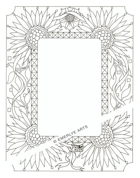 473x600 Cynthia Emerlye, Vermont Artist And Life Coach Sunflower Frame