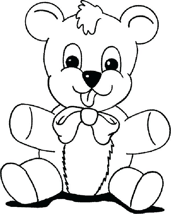 600x752 Cute Teddy Bear Coloring Pages Coloring Pages Teddy Bears Free