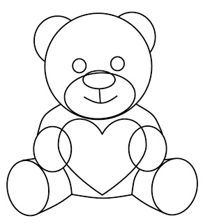 291x320 How To Draw Cartoons Teddy Bear
