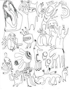 236x306 Original Line Drawing, Funny Art, Jewish Art, Hamsa, Hamsa Drawing