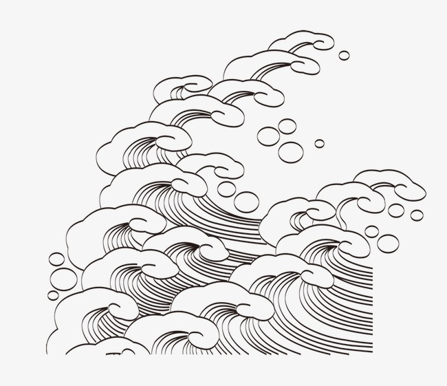 650x561 Line Drawing Waves Waves, Line Drawing Waves, Wave, Line Png Image
