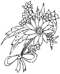 252x314 Drawings Of Flowers