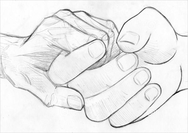 Line Hand Drawing