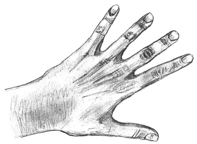 400x293 How To Draw Hands