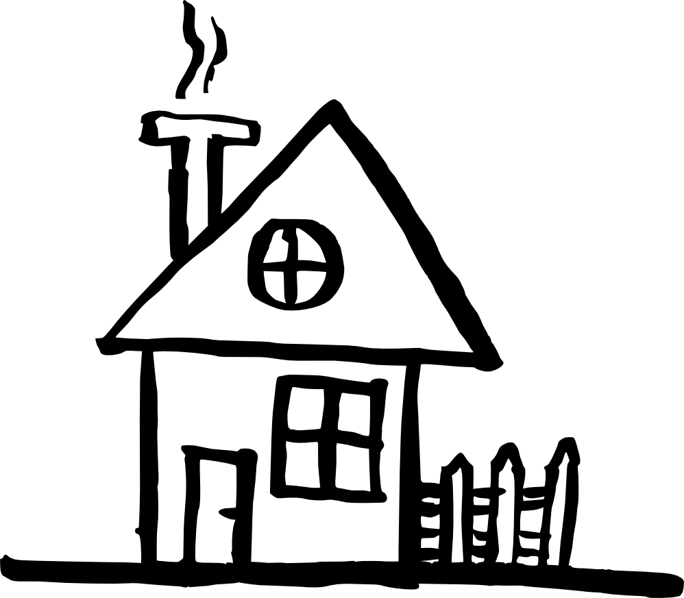 Line Drawing Of Your House : Line house drawing at getdrawings free for personal