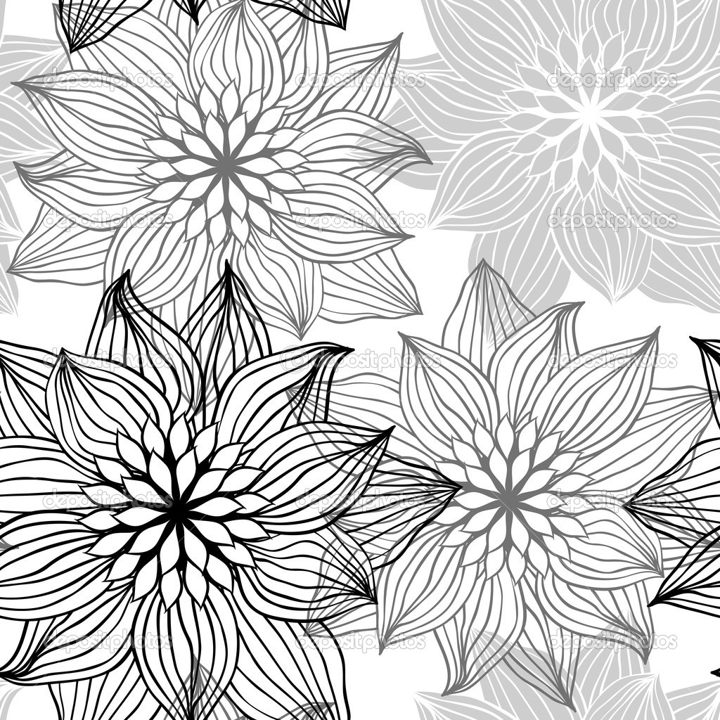 1024x1024 How To Draw Bohemian Flowers How To Draw Flowers Patterns