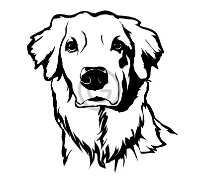 400x363 Vector Line Art For Engraving