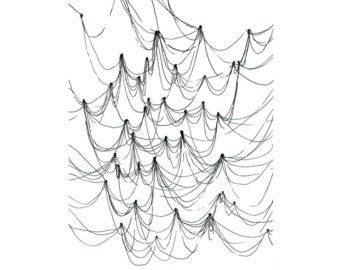 340x270 String Art Line Lines Drawing Drawings Paper Black