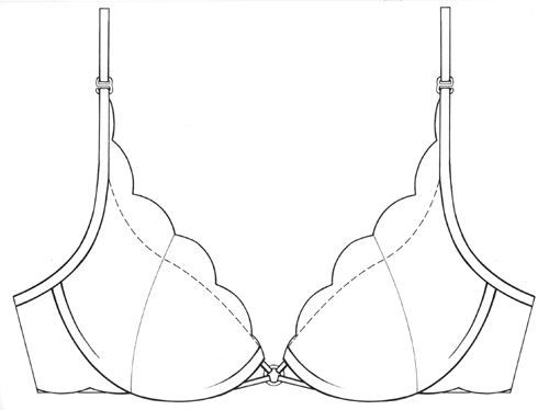 Lingerie Drawing