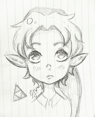 320x393 Soo I Started Playing Loz Oot And Young Link Is So Cute! I Was So