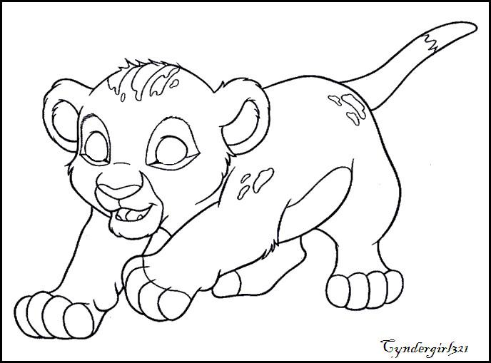 688x509 Free Lion Cub Base By Spyroandcyndergirl32