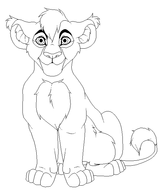533x627 Base Male Lion Cub By Kimster890