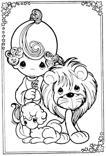 Lion And Lamb Drawing