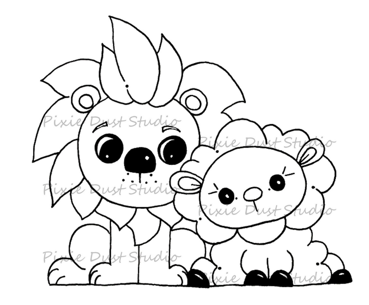 1500x1241 Lamb Coloring Pages