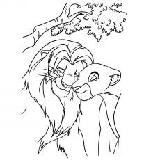 230x230 Top 20 Free Printable Lion Coloring Pages Online