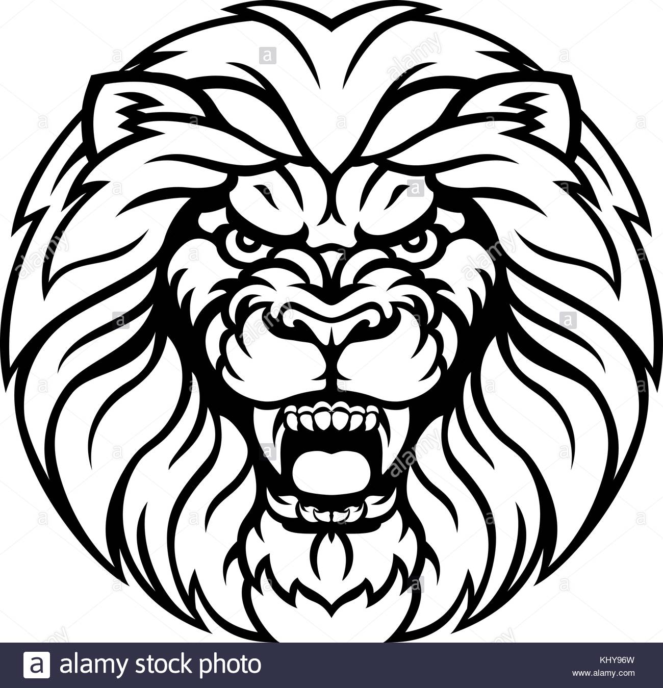 1300x1349 Angry Lion Drawing Stock Photos Amp Angry Lion Drawing Stock Images