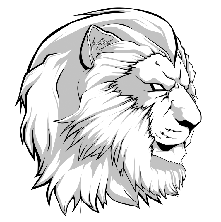 755x756 Lion By Ice Vision
