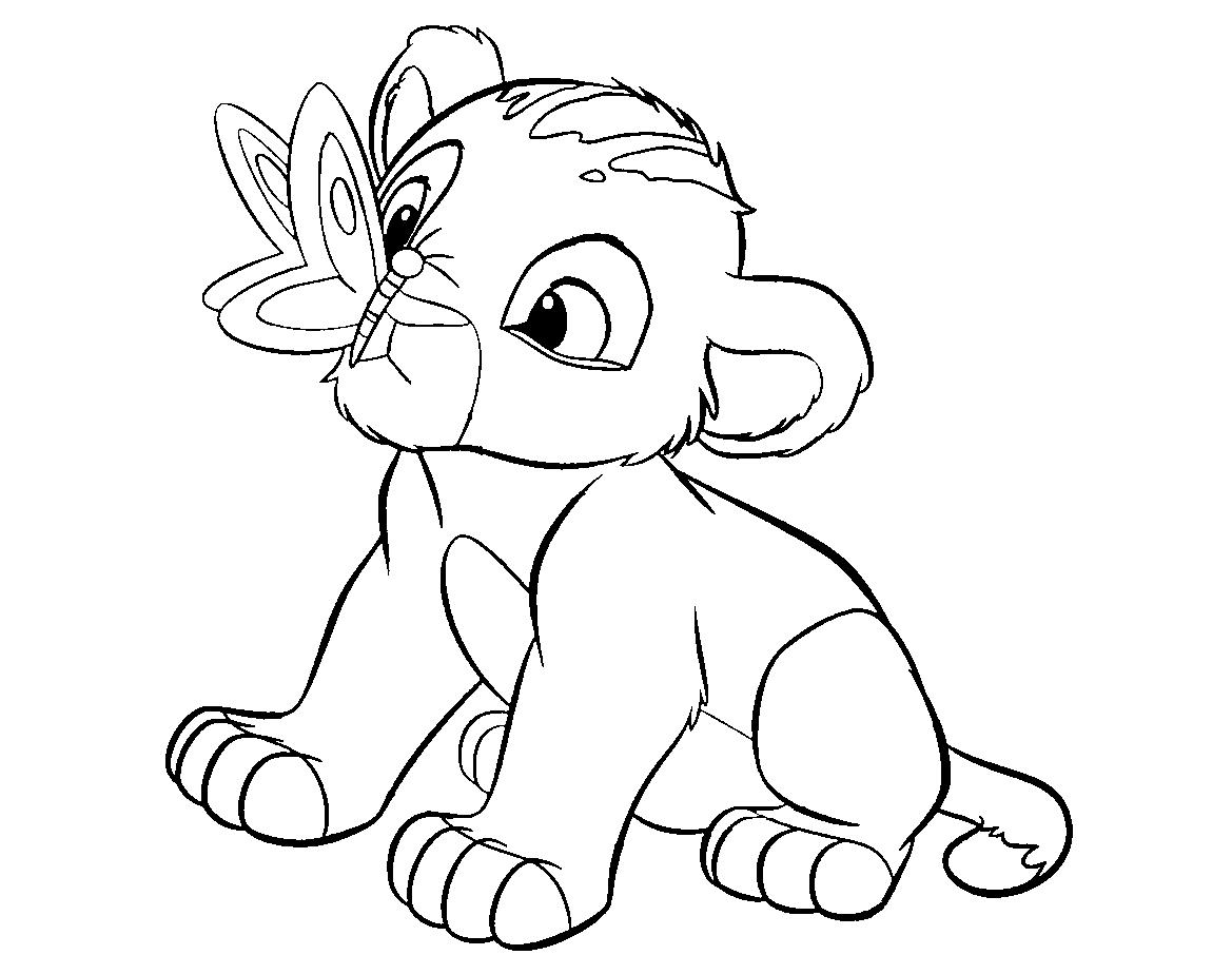 1169x906 Colour Drawing Free Wallpaper Disney Cartoon The Lion King
