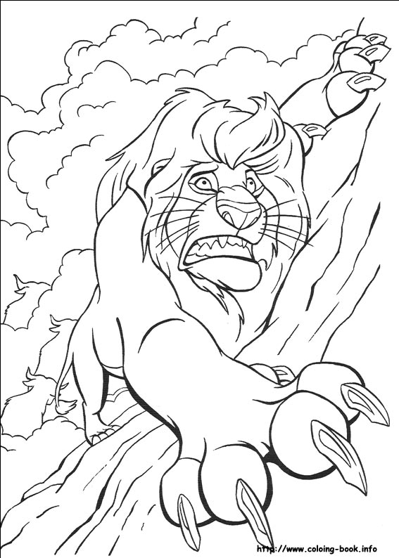 567x794 Marvellous Lion King Coloring Pages 19 About Remodel Download
