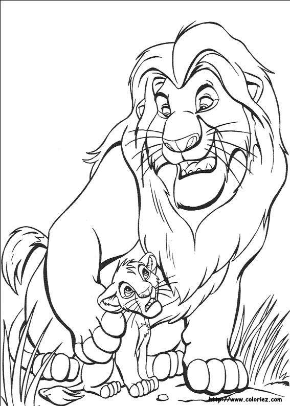 567x794 Lion King Drawings Mufasa Coloured