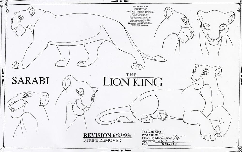 1000x631 Drawn Lion Family Drawing