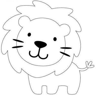 388x400 Gallery Cute And Easy Lion Drawings,
